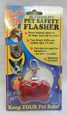 High Visibility Pet / Child Safety Flasher / Backpack Flasher - BNIB