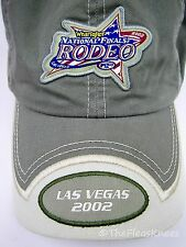 "Green NFR 2002 RODEO Las Vegas Cap Hat ""National Finals Rodeo"""