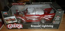 RC2 ERTL JOYRIDE 1:18 DIECAST GREASE GREASED LIGHTNING RED WHITE BOLTS IN BOX