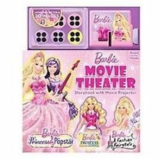 Barbie Movie Theater Storybook with Movie Projector - VeryGood - BarbieTM - Hard
