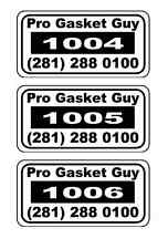 100 2x1 Custom Printed  Barcode Polyester HI-QUALITY asset Tags Stickers Labels