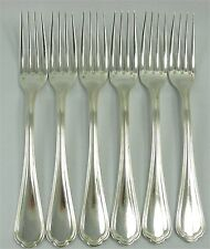 Christofle modèle Spatours, 6 fourchettes de table, Table Forks. Lot 1/2.