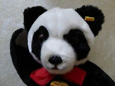 "Steiff 13"" Petsy Panda 0240/35 with tags and button in ear"