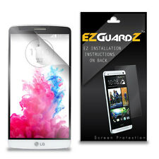 4X EZguardz LCD Screen Protector Skin Cover Shield HD 4X For LG G3 A (Clear)