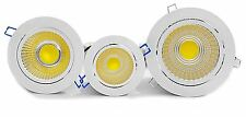 High Power 7W Tillt COB LED Recessed Ceiling Down Lights Cabinet Warm White
