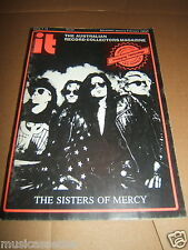 OZ RECORD COLLECTOR MAGAZINE THE SISTERS OF MERCY BIRTHDAY PARTY LED ZEPPELIN