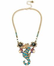 AUTHENTIC BETSEY AND THE SEA SEAHORSE NECKLACE RETAIL $75