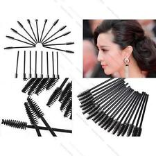 Eyelash Extension Supply #B Disposable Mascara Brush Wand Brush Spoolies x 50