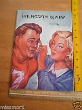 Pigskin Review USC Football program 1946 vs Ohio State Buckeyes