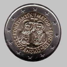 Slovakia 2013 - 2 Euro Comm - 1150th Ann Mission Constantine & Methodius (UNC)