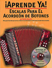 Aprende Ya Escalas Para El Acordeon De Botones Play Accordion Music Book