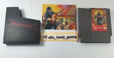 Ninja Gaiden 1 Original Nintendo NES W/ Dust Sleeve Manual Cleaned Ships Fast