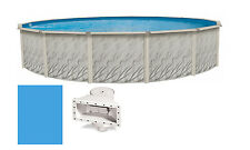 "27'x52"" Round MEADOWS Above Ground Swimming Pool & Liner Kit"