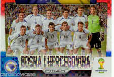 2014 World Cup Prizm Red White Blue Country Team Shot No.5 BOSNA I HERCEGOVINA