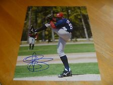 Drew Storen Washington Nationals Signed/Auto 8x10 Photo 2 COA   Mariners