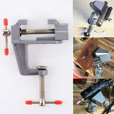 "3.5"" Aluminum Mini Jewelers Hobby Clamp On Table Bench Vise Vice Tool Durable"
