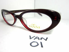 VANNI OCCHIALI Cat Eye Eyglasses Frame in Burgundy #5513 (VAN-01)