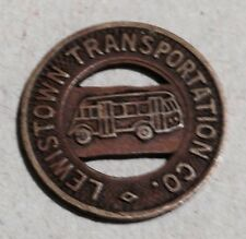Lewistown Transportation Co  Good for one zone fare token