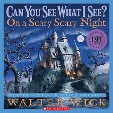 Can You See What I See on a Scary Night (Hardcover) Picture Puzzles Search Solve