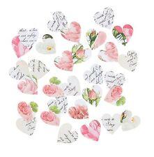A forma di cuore floreale tavolo confetti-matrimonio decorazione-Blossom & Brogue gamma
