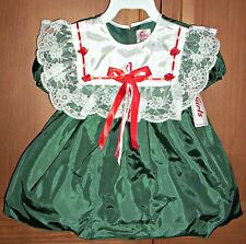 18 Month Infant Girls Green Special Occasion Holiday Wedding Dress #108