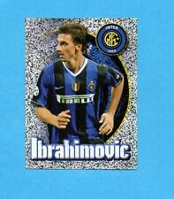 PANINI CALCIATORI 2006-2007- Figurina n.158- IBRAHIMOVIC - INTER -NEW
