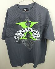 WWE DX SHIRT - SIZE XL - D-GENERATION X SHAWN MICHAELS TRIPLE H WWF WCW_R117