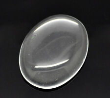 5 Clear Hot Oval New Glass Dome Seals 40x30mm
