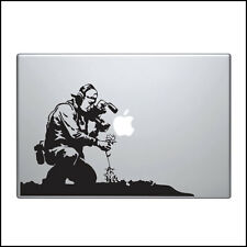 Banksy Decal for Macbook Pro Sticker Vinyl skin air 11 13 15 funny camera man