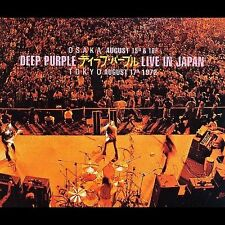 DEEP PURPLE - LIVE IN JAPAN [1972] (Rock) (3 CD Set) - NICE! WOW! L@@K! RARE!