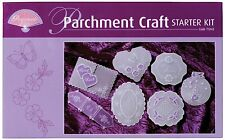 Pergamano Starter Kit - Parchment Craft - Includes Tools, Paper, Pen, Patterns
