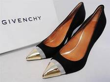 Givenchy Black Leather Toe-cap  Pumps Heels UK5 38