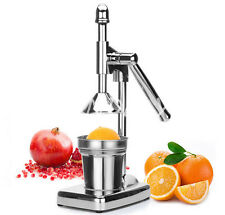 Hand Press Squeezer Orange Citrus Juicer Fruit Juice Extractor Stainless Steel