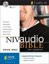 NIV Audio Bible New Testament Voice Only CD by Zondervan
