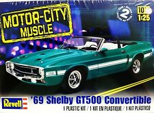 Revell Monogram 1969 Shelby GT500 Ford Mustang Convertible Model Kit 1/25