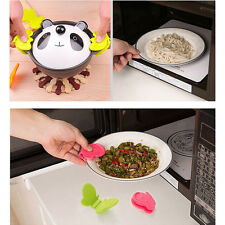 1PC Silicone Butterfly-Shaped Adorable Anti-Scald Device Kitchen Tools Random