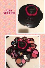Miss Rose Ultimate Color Make Up Kit Set Opens As A Rose. USA SELLER