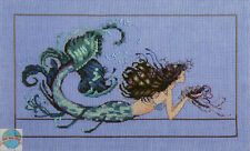 Cross Stitch Chart / Pattern ~ Mirabilia Mermaid Undine #MD134
