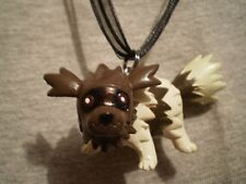 Pokemon Zigzagoon Anime Figure Charm Necklace Gift  Raccoon Collectible Jewelry