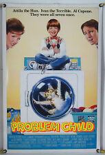 PROBLEM CHILD DS ROLLED ORIG 1SH MOVIE POSTER JOHN RITTER COMEDY (1990)