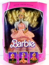 NIB BARBIE DOLL 1989 PEACH PRETTY **