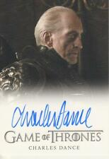 Game of Thrones Season 2 - Charles Dance Autograph Card - Rittenhouse