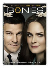 BONES: SEASON 11 DVD - THE COMPLETE ELEVENTH SEASON [6 DISCS] - NEW UNOPENED