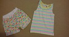 Baby Girls Summer Top and shorts 18-24 months