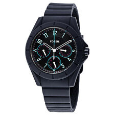 Fossil Poptastic Sport Black Silicone Mens Watch ES4063