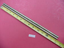 "2 Pieces 3/8"" C360 BRASS SOLID ROUND ROD 14"" long New Lathe Bar Stock .375"""