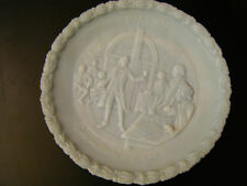 Fenton Delphite Give Me Liberty Decorative Plate 1973 1st in Series