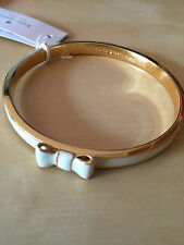 New with tags Kate Spade Take A Bow Bangle Cream