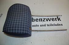 Mercedes W124  Kopfstütze Stoff vorne Karo blau
