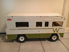 Old Vtg TONKA Winnebago Camper Vehicle Pressed Steel Plastic Toy